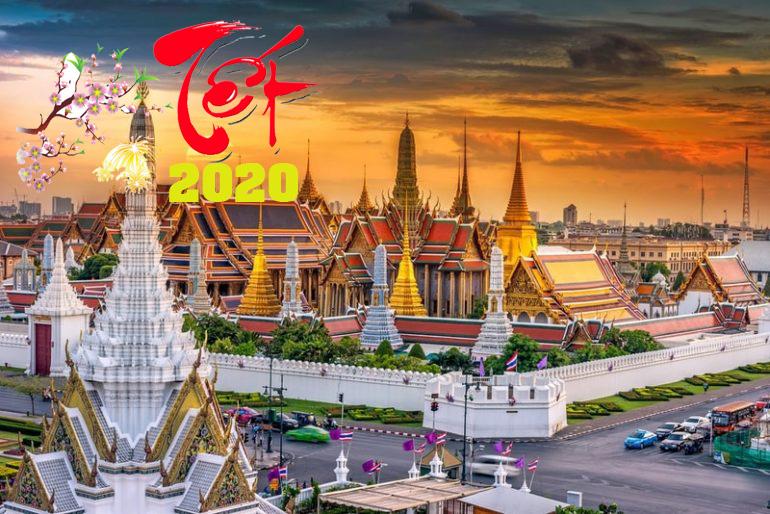 TOUR THÁI LAN 5N4Đ BAY SÁNG TẾT CANH TÝ 2020