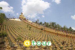 TOUR HÀNH HƯƠNG CHÂU ĐỐC- CHÙA PUKIRI- CAMPUCHIA 2N2Đ
